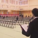 【北海道・江別市】代表10人で卒業式 YouTubeで生配信も